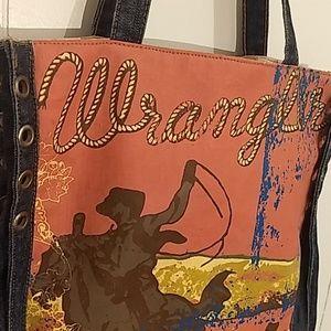 Vintage Wrangler Denim and Canvas Logo